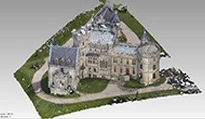 3d models of the castle of Abbadia