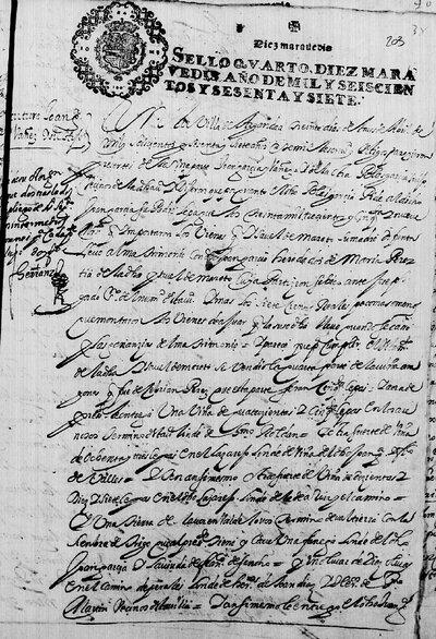 Convenio de Juan García Ibáñez y su hijo Blas García sobre la herencia