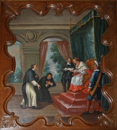Johannes van Eppa, ontvangen door de aartsbisschop van Keulen