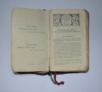 Handboek voor de vereerders van O.L.V. van Scherpenheuvel