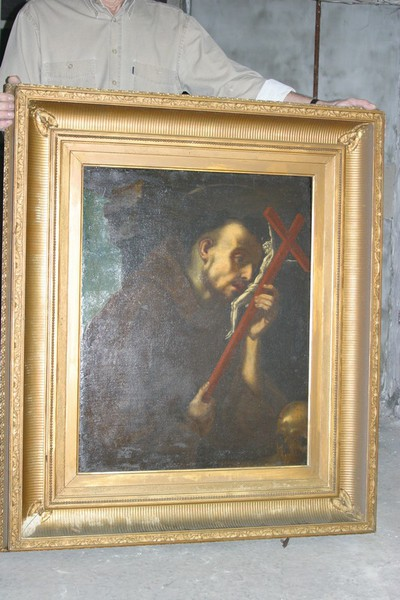 Heilige Franciscus van Assisi als minnaar van het kruis