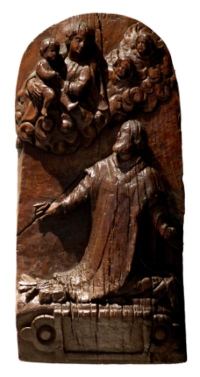 Onze-Lieve-Vrouw met Kindje verschijnt aan de heilige Philippus Nerius