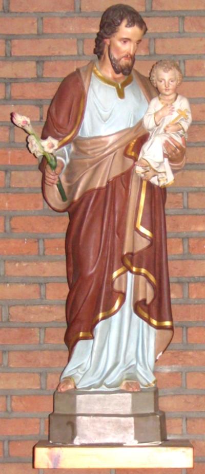 H. Jozef met kindje Jezus