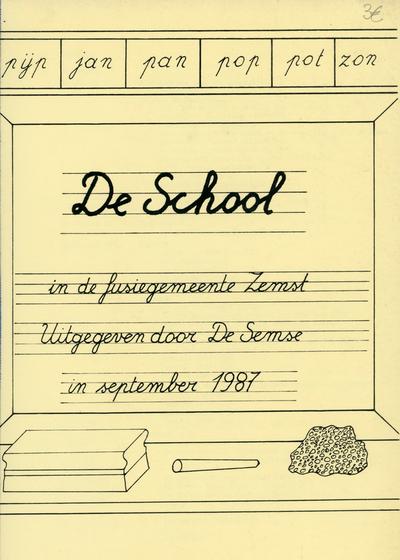 De school in de fusiegemeente Zemst