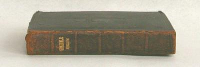Graduale sacrosanctae romanae ecclesiae de tempore et de sactis ss. D. N. Pii x. Pontificis maximi jussu restitutum et editumjuxta editionem vaticanam