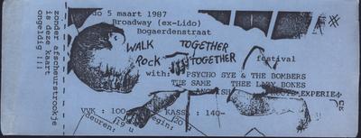 Walk Together Rock Together Festival