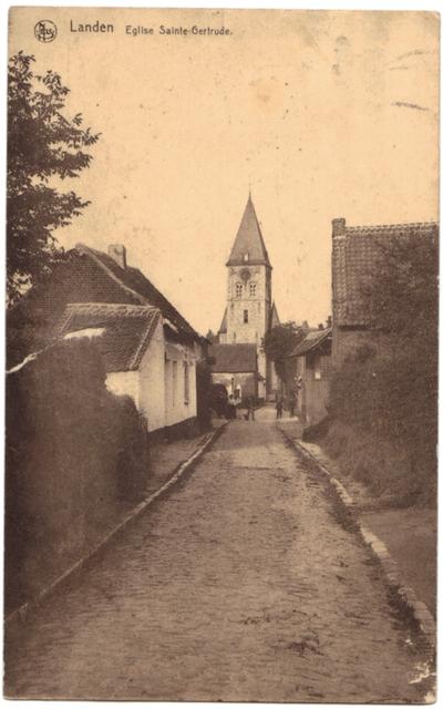 Landen St Gertrudiskerk - Eglise Saint-Gertrude