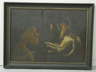 Bewening van Christus door heilige Franciscus van Assisi