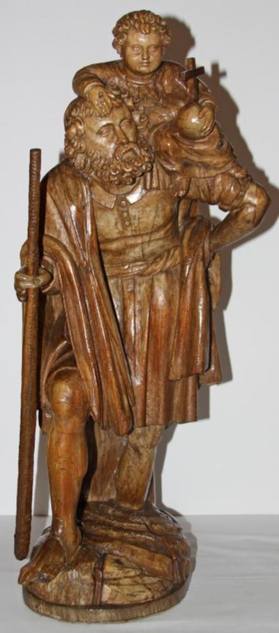 Heilige Christophorus met kind
