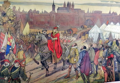 49. De prinses van Epinoy en de overgave van Doornik