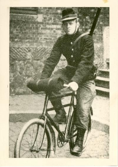 Foto van een Cyclist.
