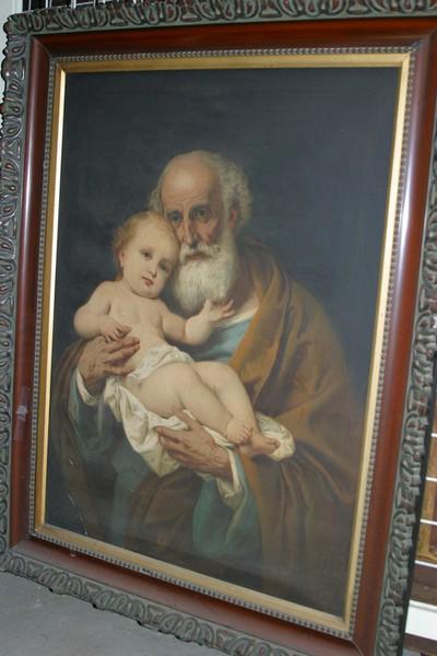 Heilige Jozef met Kind