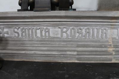 Kaarsenbank voor Sint-Rosalia