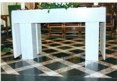 nieuw altaar