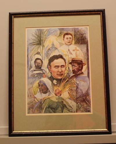 Pater Damiaan en Moeder Theresa