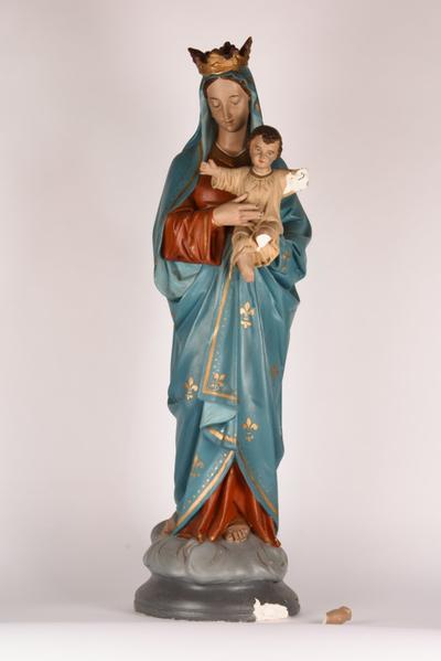 Mariabeeld met kind