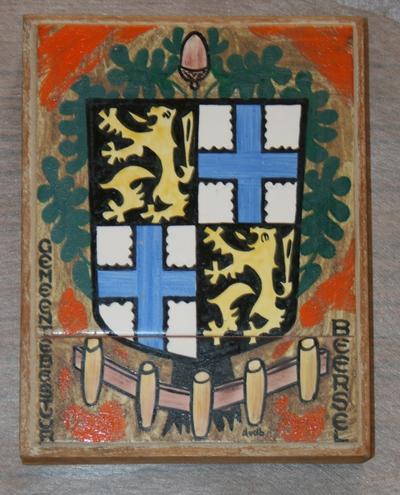 Wapenschild van de fusiegemeente Beersel door Dries Van Den Broeck