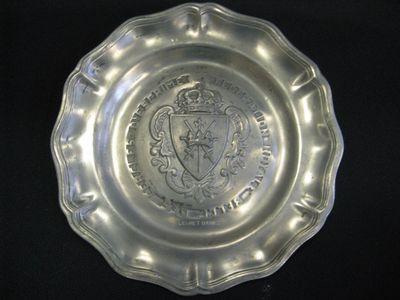 tinnen bord - Championnat de Belgique