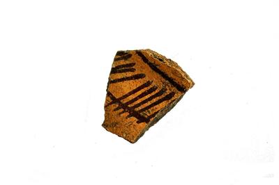 Fragment van kookpotje.