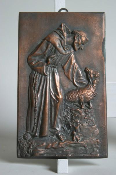 Heilige Franciscus van Assisi als dierenvriend