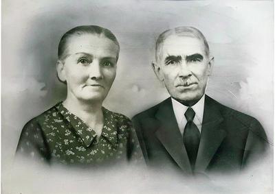 Pentekening van Mignolet Guillaume met echtgenote
