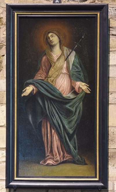 Schilderij 'Onze Lieve Vrouw van Smarten'