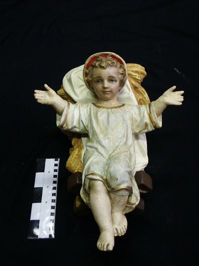 Jezuskind in kribbe