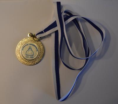 medaille als aandenken 375ste bedevaart Attenhoven-Scherpenheuvel
