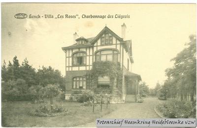 Genck - Villa Les Roses, Charbonnage des Liégeois