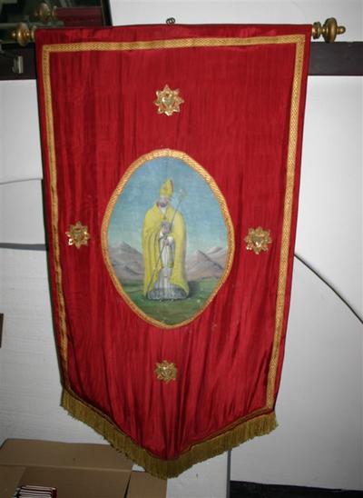 Heilige Amandus als bisschop