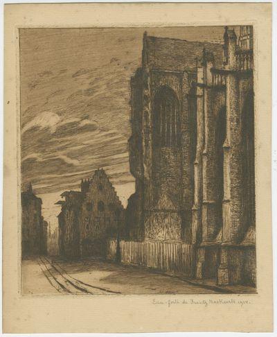 Zuidelijk transept van de Sint-Pieterskerk in Leuven