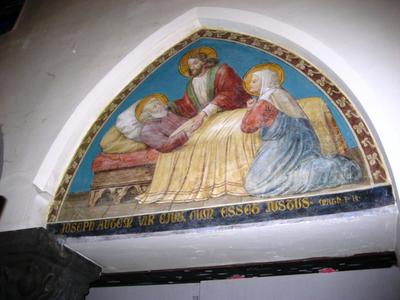 H. Jozef op zijn sterfbed
