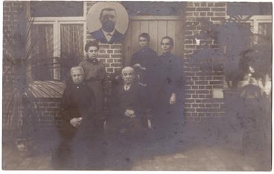 Familieportret 1914-1918 Landen Italiaanse familie