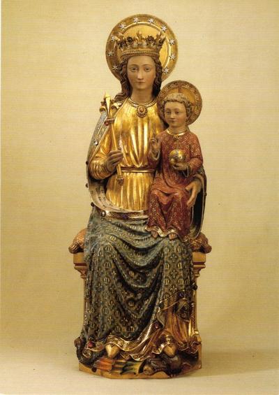 beeld Onze-Lieve-Vrouw met Kind