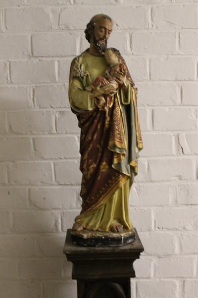 Een beeld van Sint Jozef