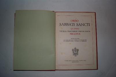 Ordo sabati Sancti