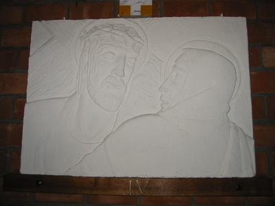 Statie 4 - Jezus ontmoet Zijn Heilige Moeder