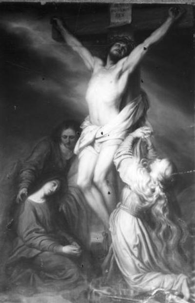 12e statie van de kruisweg, Jezus sterft aan het kruis