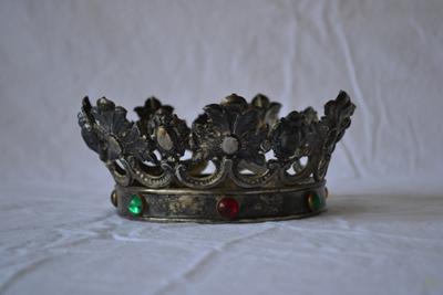 Zilveren kroon