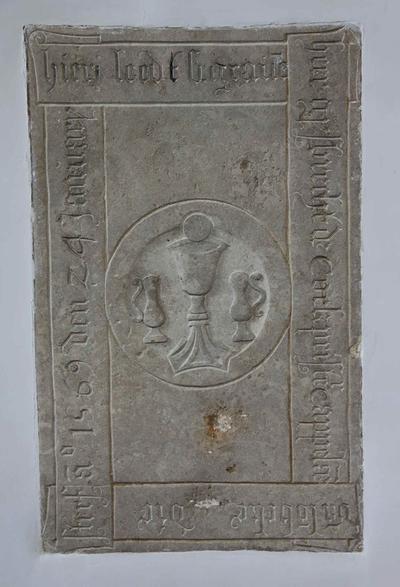 Grafsteen van Gysbrecht van Cock (+1569)