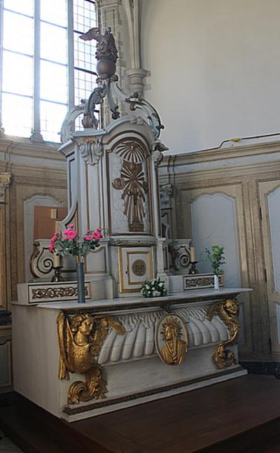 Hoogaltaar sacramentskapel