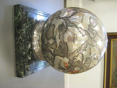 Wisseltrofee, zilveren wereldbol,