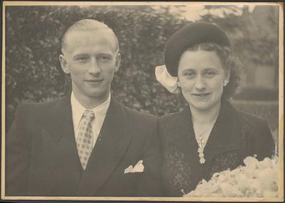 Huwelijk Mathieu Lenders en Lieske Gilissen.