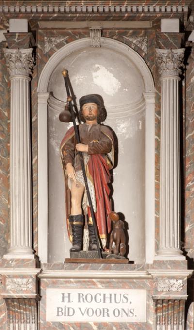 Beeld van Sint-Rochus
