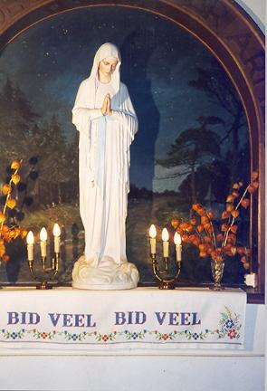 Maria Immaculata, grot