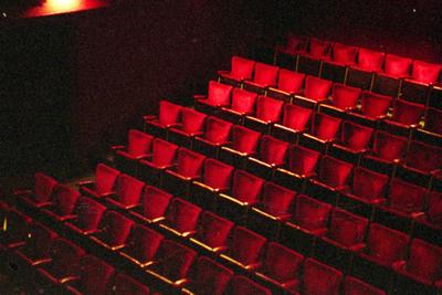 Speelzaal Theater Corso - vanaf balkon (côté cour)