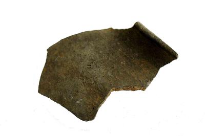 Fragment van kookpot.