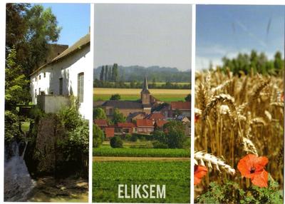 Eliksem, zicht op dorp