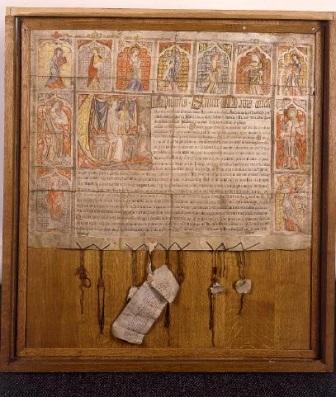 Aflaatbrief van paus Benedictus XII, 22 maart 1342