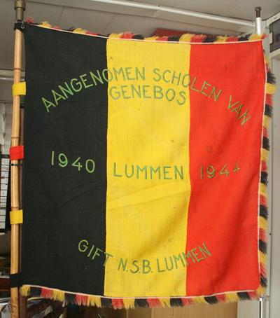 Belgische driekleur school Genebos